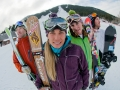 Portrait of jackson Hole Freeskiers